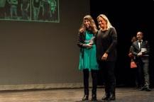 Marta Solano recibió el Premio Cantabria Film Commission por 'Mujeres de la Mar'